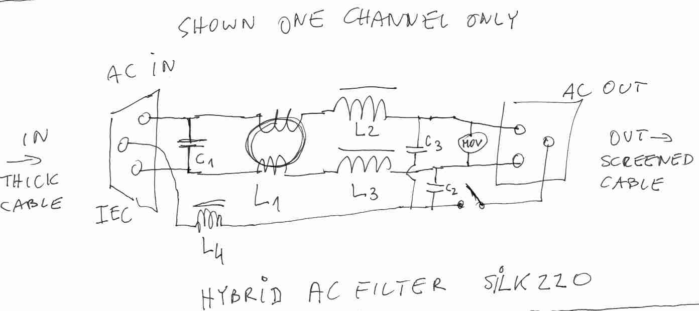 Ac Filter Diagram Wire Diagrams L Circuit Schematics Of