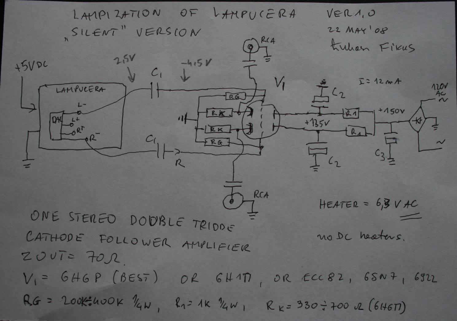 Avclub Shunt Voltage Regulator Circuit Http Wwwtubecadcom 2010 12